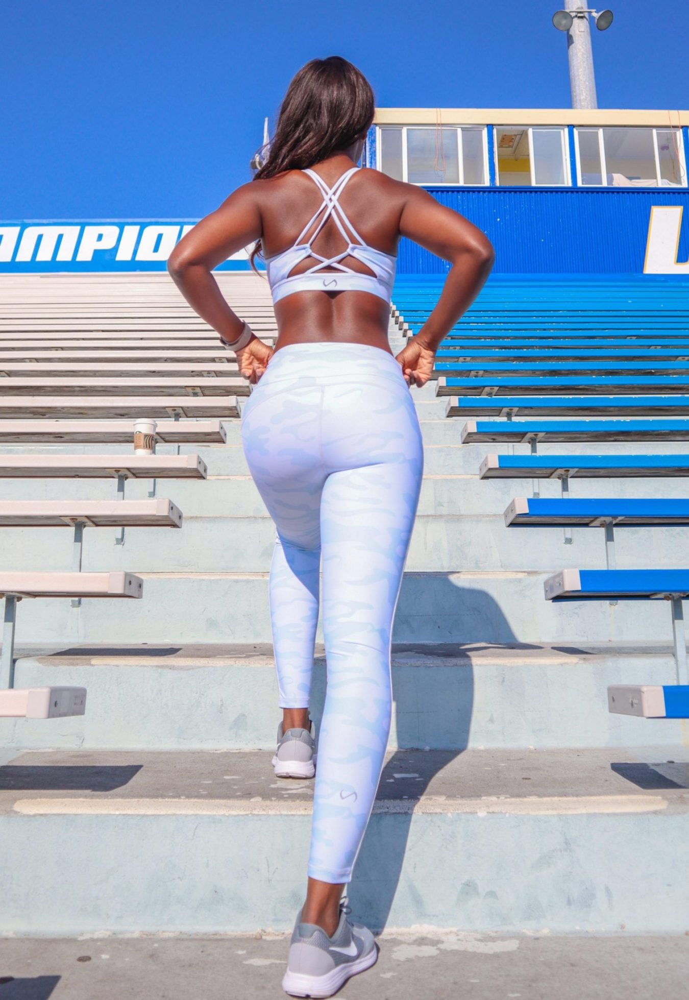 Sincerely Active: camo workout pants