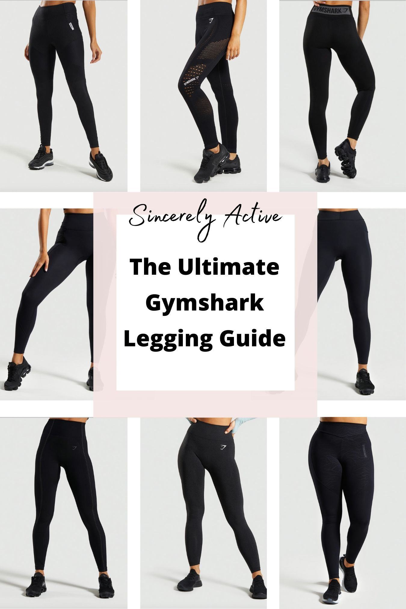 The Ultimate Gymshark Legging Shopping Guide