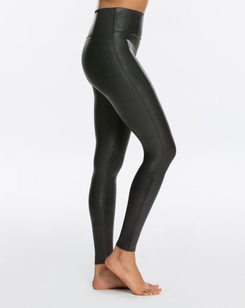 Spanx faux leather legging review
