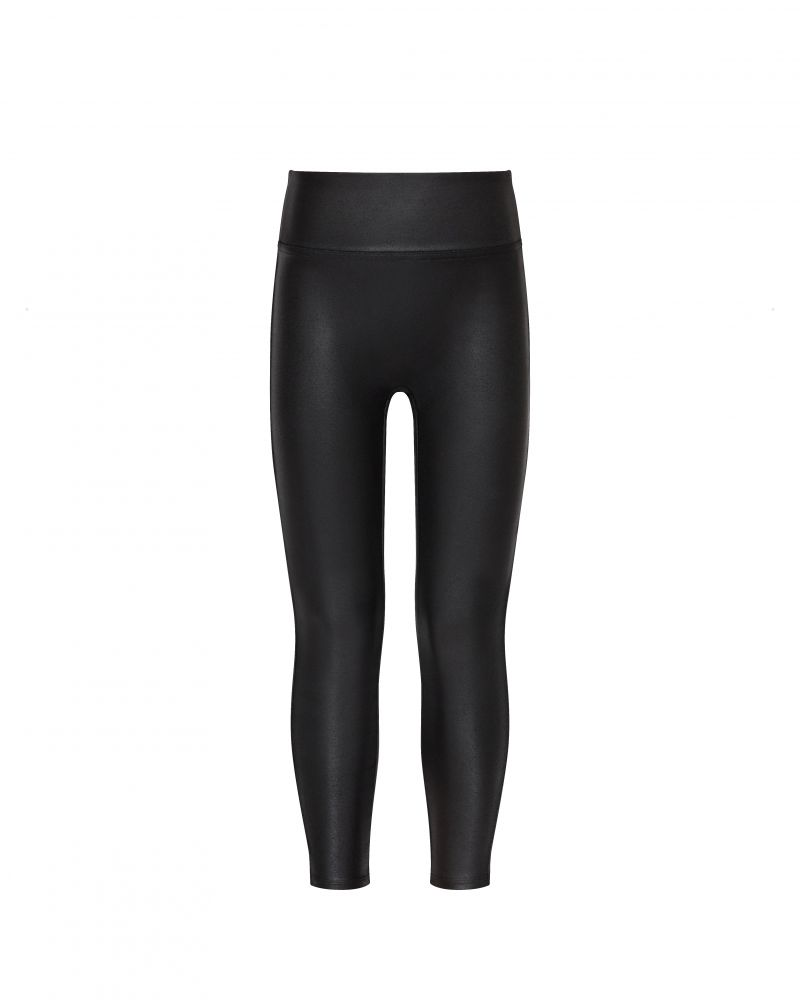 Spanx faux leather girls legging review