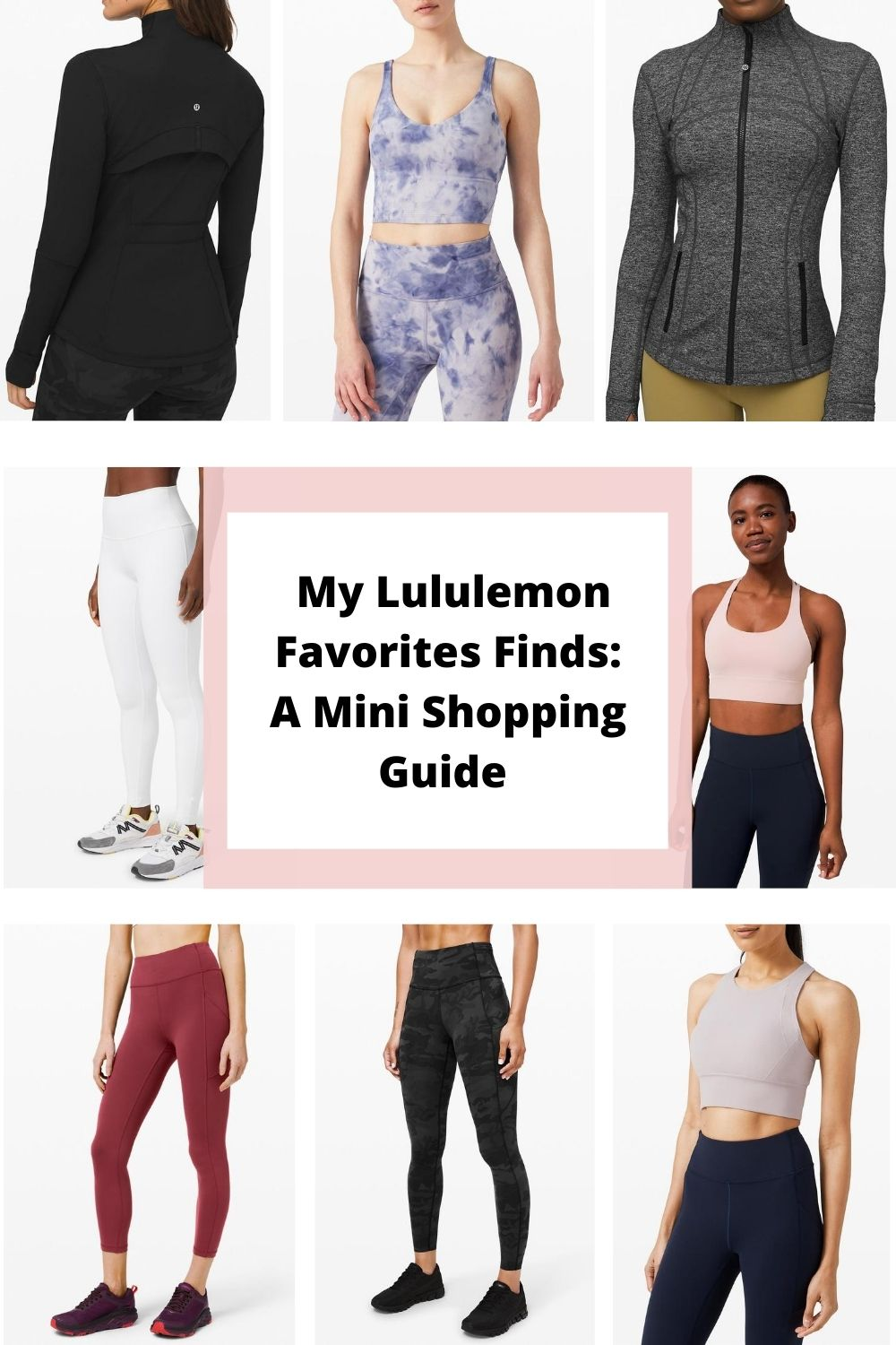 Lululemon shopping guide